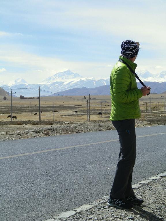Margaret Watroba eyeing up her next challenge - the North Ridge of Everest 2013.