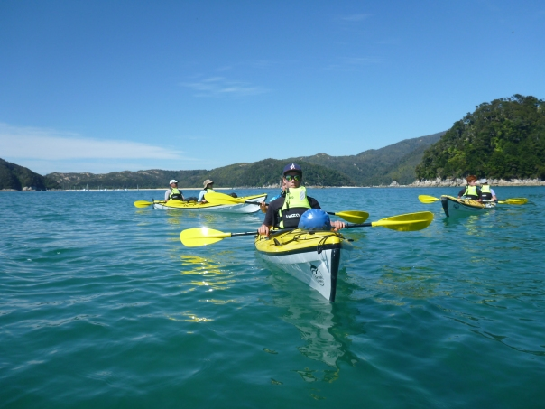 Paddling on flat water in the morning. The wind always gets up from 11AM onwards and it gets rougher in the afternoon.