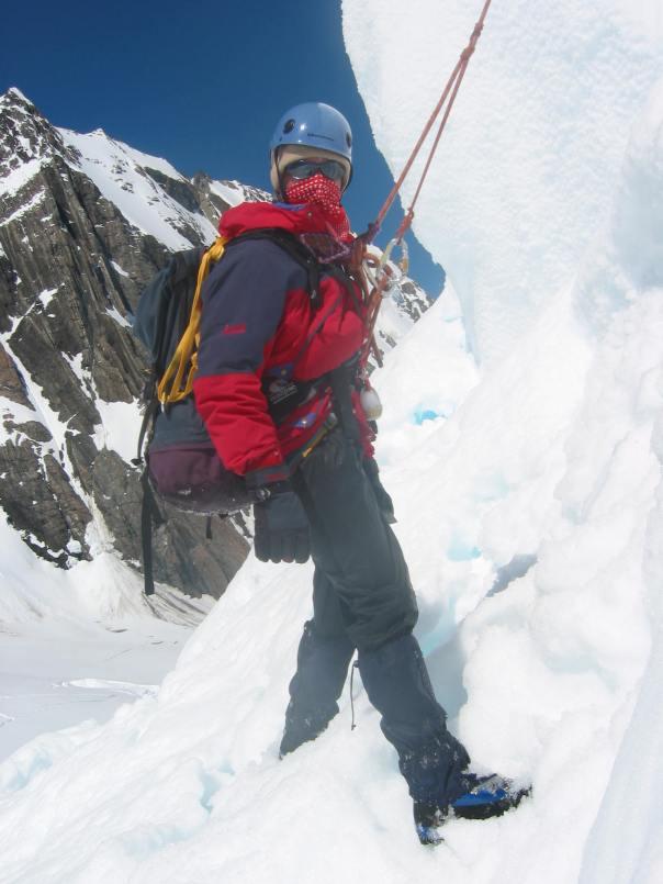 Crevasse rescue practise