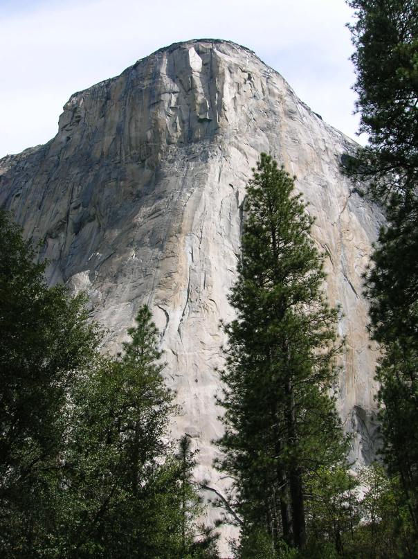 El Capitan - 3000ft, 900m of vertical granite - the most famous rock climb in the world!