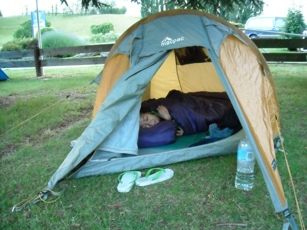 Camping in Wanaka before walking the Kepler Track