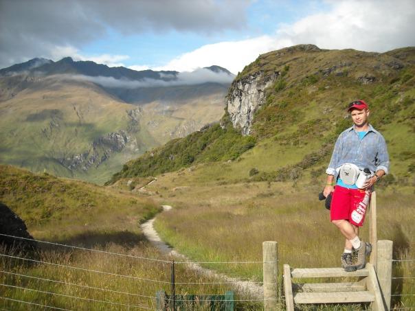 A warm-up walk around Diamond Lake, Wanaka New Zealand