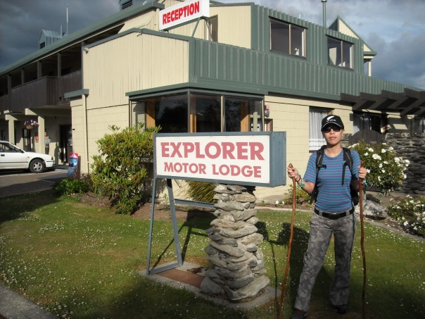 We stayed here the night before we walked the Kepler track in the small town of Te Anau