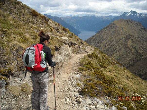 Day two walk along the ridge line was my favorite - I like high places with nice views