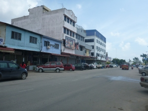 The main drag of Sungai Renggit