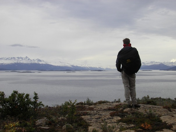 Overlooking the Beagle channel