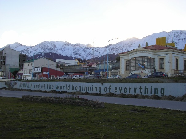 Ushuaia - the southernmost city in the world and the capital of the Argentinean province of Tierra del Fuego.