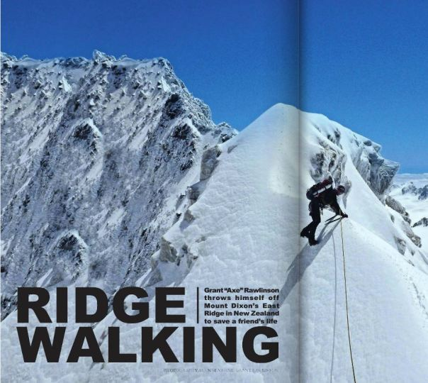 EXMAG article  on Alan Silva and my climb of Mt Dixon in New Zealand in January 2013. Click on the image and turn to page 66 to read it online.