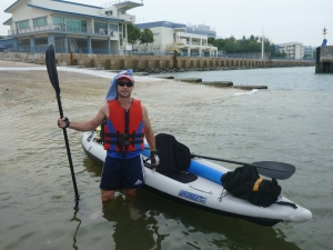 Inflatable sea kayaking SAFYC to east coast