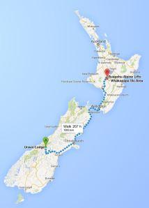 Peak to peak route