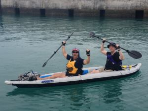 36km kayak