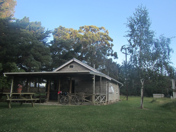 The 'Pedallers Rest' - a wonderfully peaceful retreat to spend a night for tired cyclists.