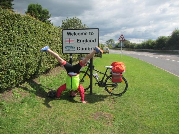 Entering England