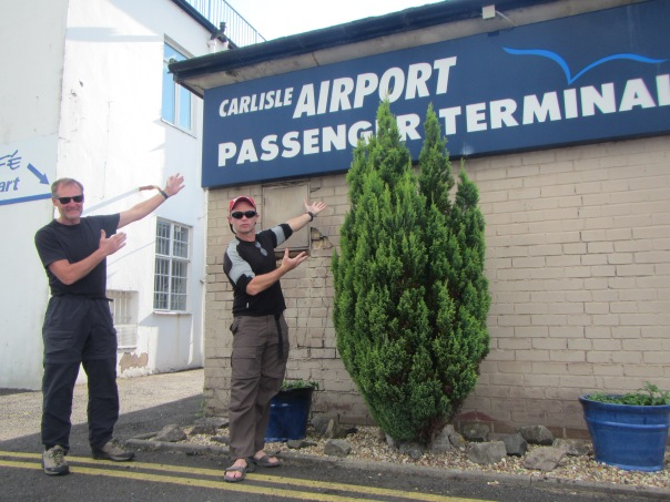 Checking out the Carlisle International Airport