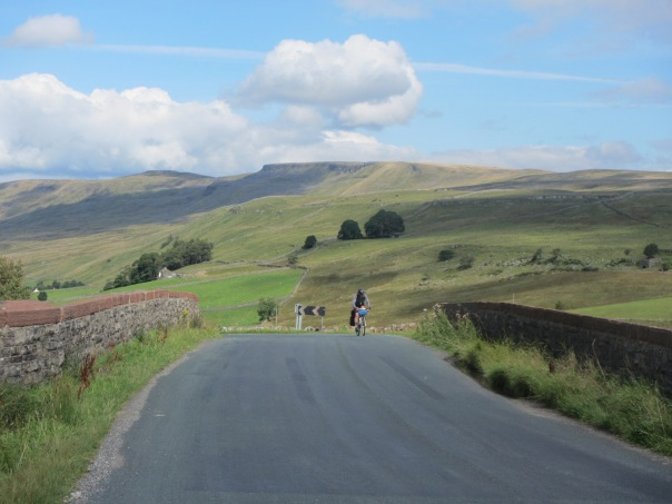 Cycling through Yorkshire - my favorite part of the trip!