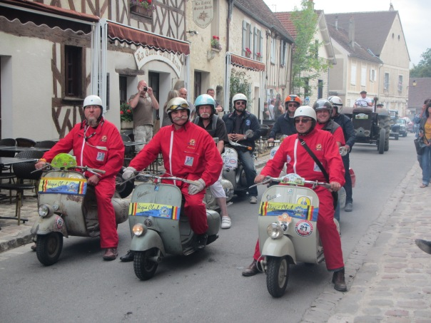 Checking out the 'Harvest Festival' in the town of Provins