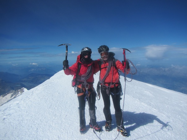 Summit shot - still friends after 22 days of each others company - another epic Peak to Peak trip!