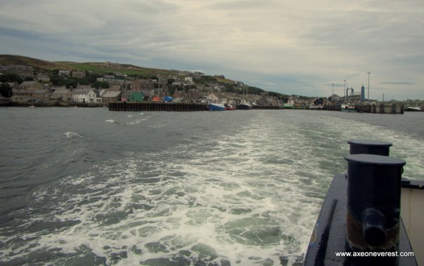View of Stromness from the ferry